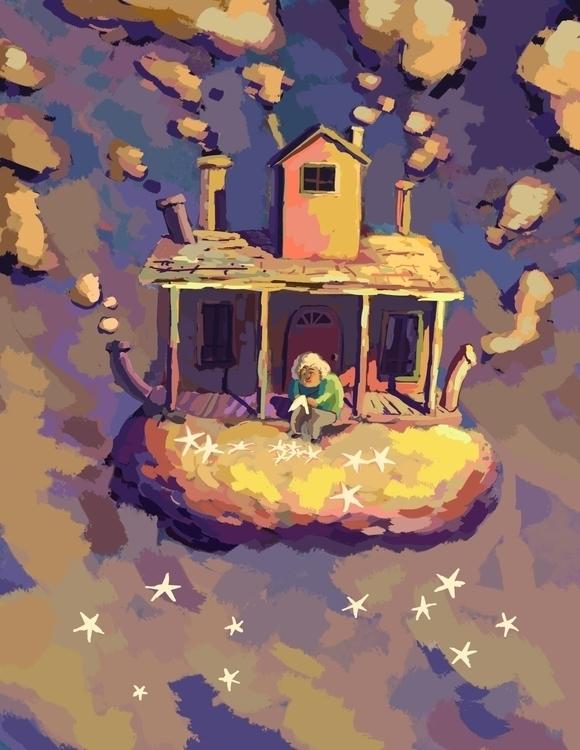 Rough Story Idea - Dream Weaver - artstory | ello