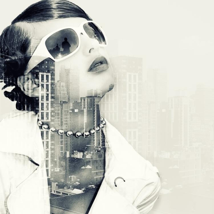 Double exposure City - design, fashion - marthi | ello