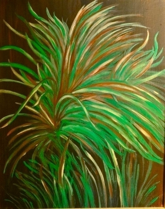 Green Leaves Acrylic Canvas - photography - lindawilliams | ello