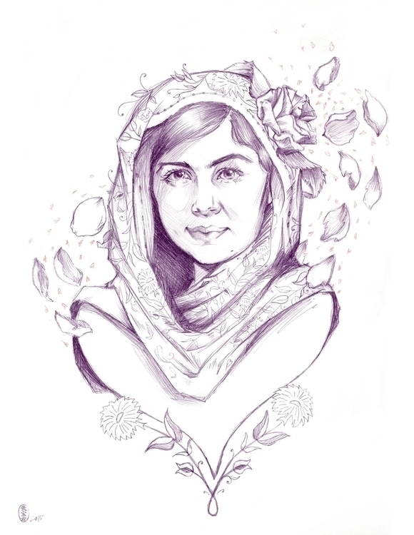 tribute Malala Yousafzai, finis - cryssy-7658 | ello