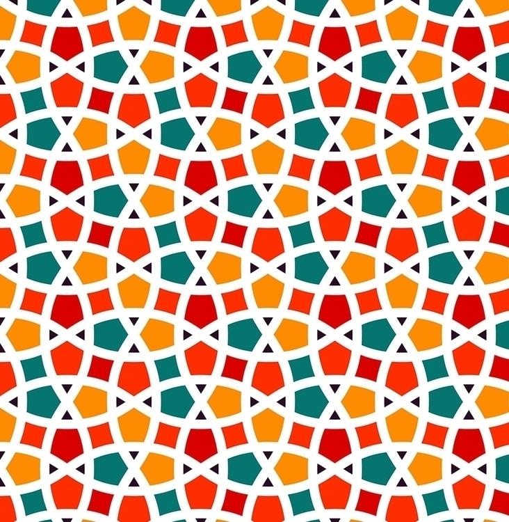 FUN tangled seamless pattern - repeatingpattern - slanapotam | ello