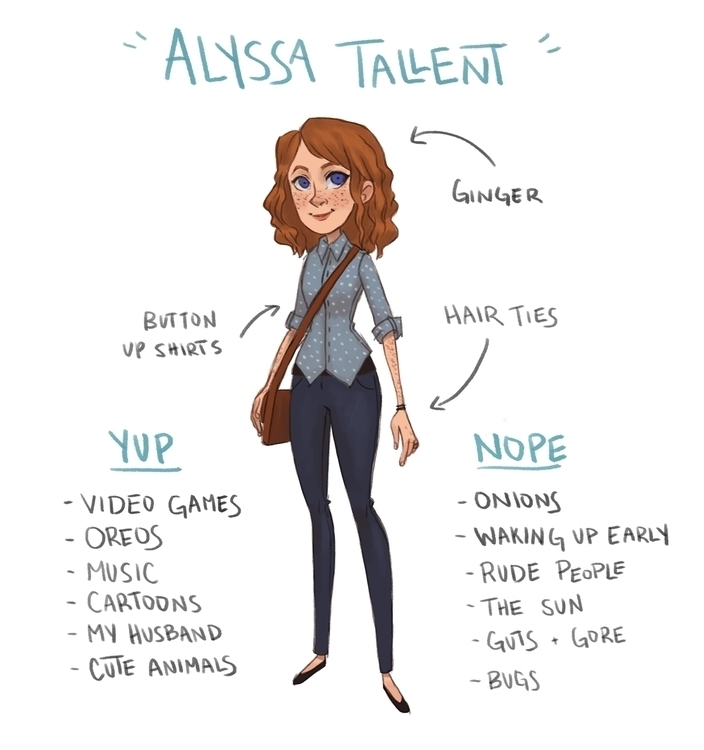 MeetTheArtist, meettheartist - alyssatallent | ello