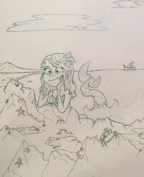 Mermaid acting mermaidsy - mermaid - davidjonreid | ello