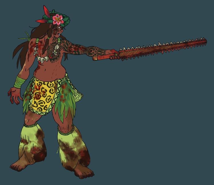 Barbarian - barbarian, hawaiian - brunodesn | ello