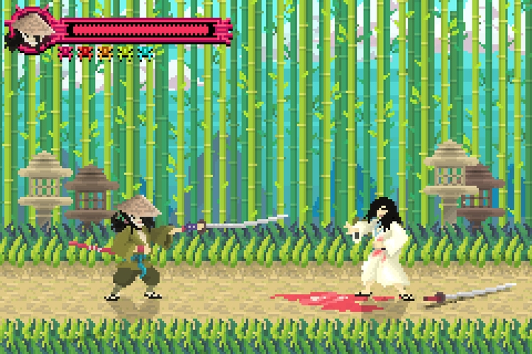 Ninja Scroll Pixel Art (game mo - planckpixels | ello