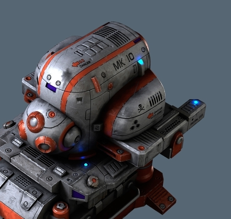 Spaceship - valentinleonida | ello