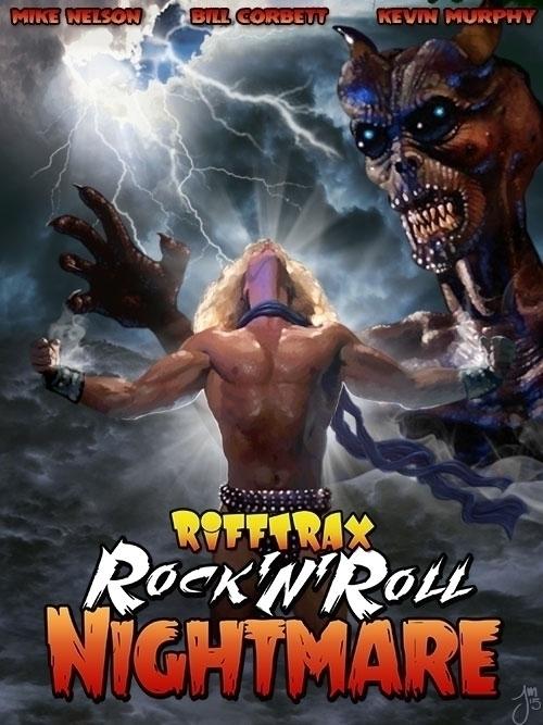Poster painted RiffTrax: Nightm - jasonmartin-1263 | ello