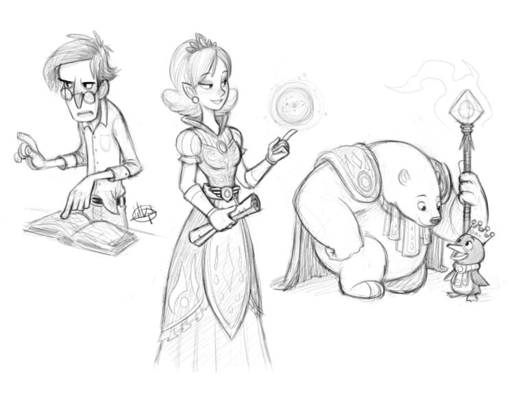 sketches :) kind stories imagin - luigil-2352 | ello