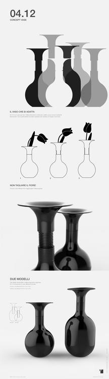 04.12 - Concept Vase Design Val - itemlab | ello