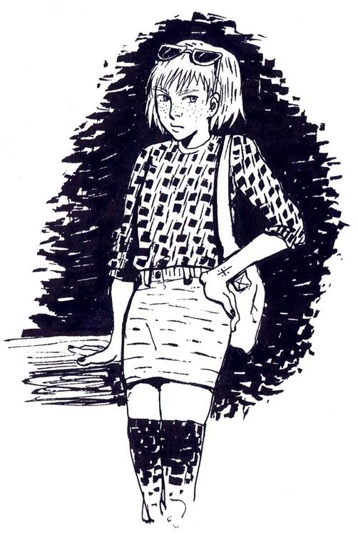 pissed girls favourite - illustration - tinch-5314   ello