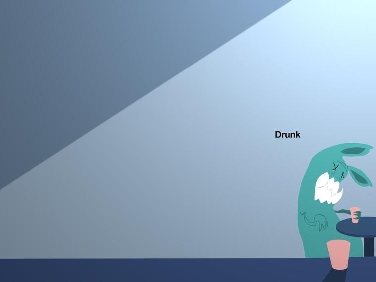 Drunk - michaelanimation | ello