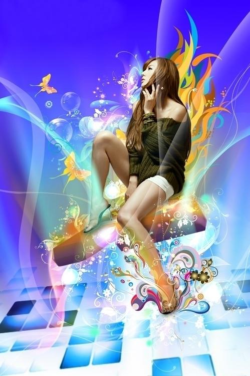Hwang Mi Hee Fan Art - illustration - elliptyzz | ello