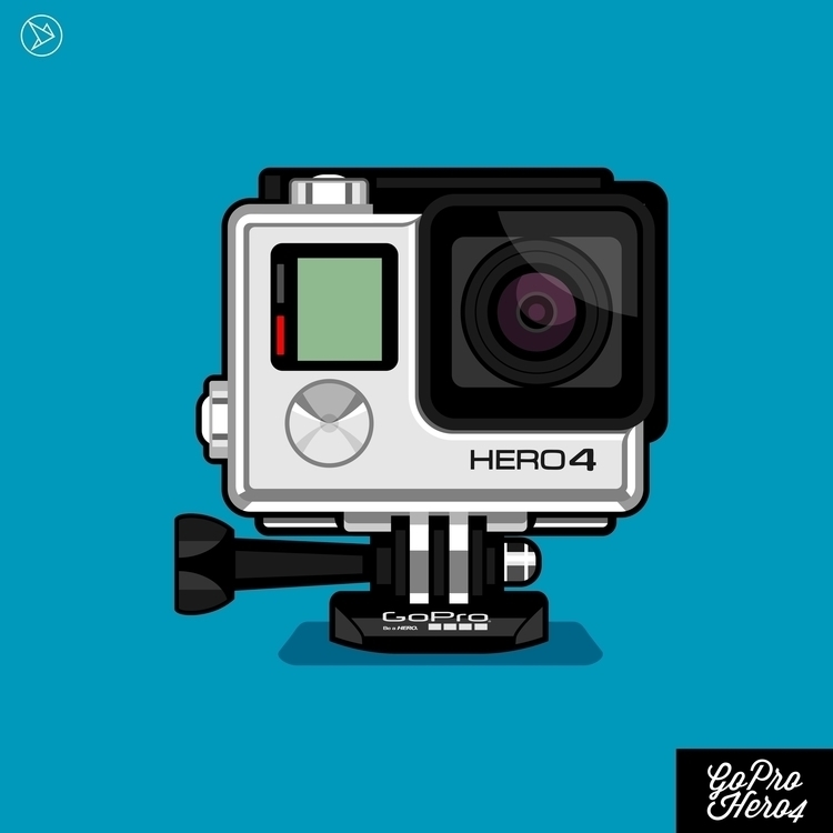 GoPro Hero 4 - vector, digitalart - superslap15 | ello
