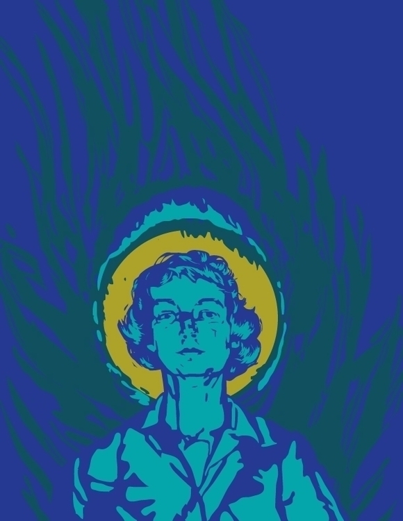 Portrait author Flannery Propos - vdyej | ello