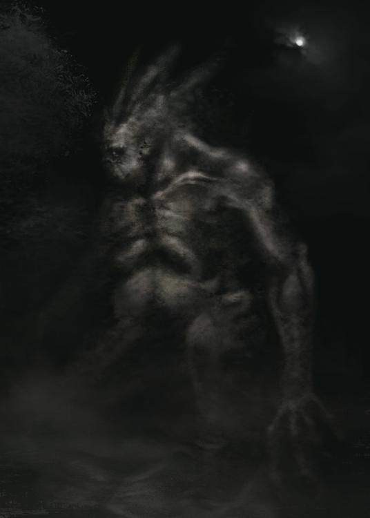 Swamp Daimon - swamp, daimon, demon - alecs-1191   ello