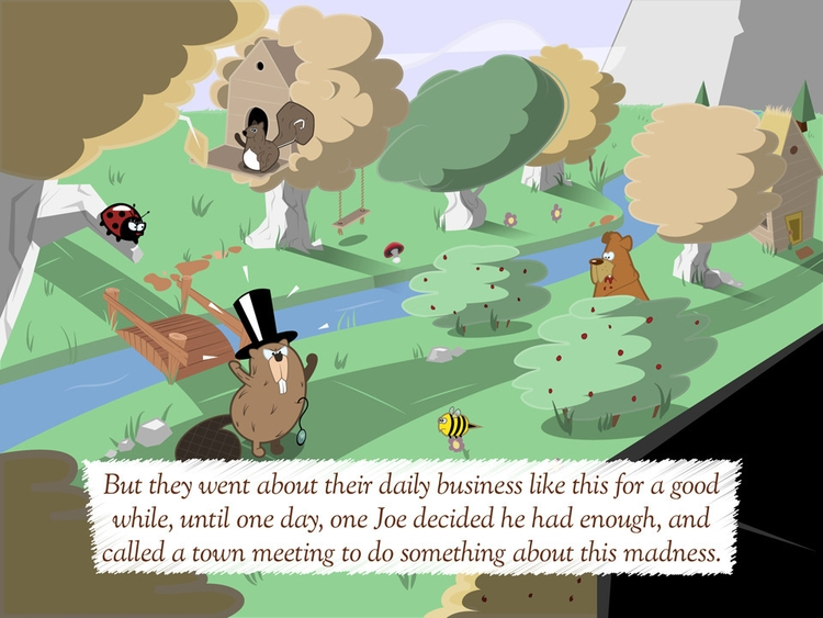 Preview Silly Village, interact - thepetersimon   ello