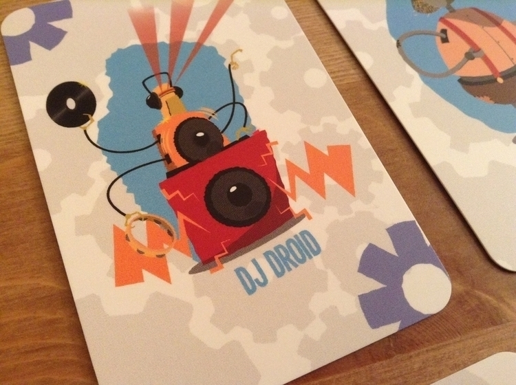 Couple examples printed deck - illustration - thepetersimon | ello