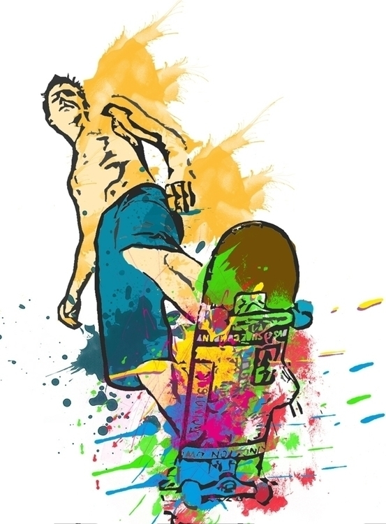 Skater - skateboard, skate, skater - javi_olalla | ello