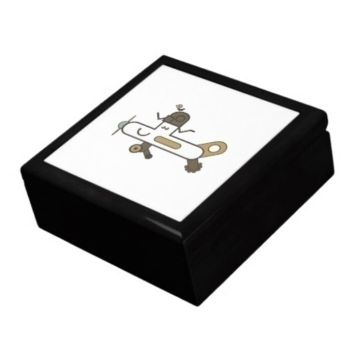 Aeroplane Jewellery Box - zazzle - grabatdot | ello