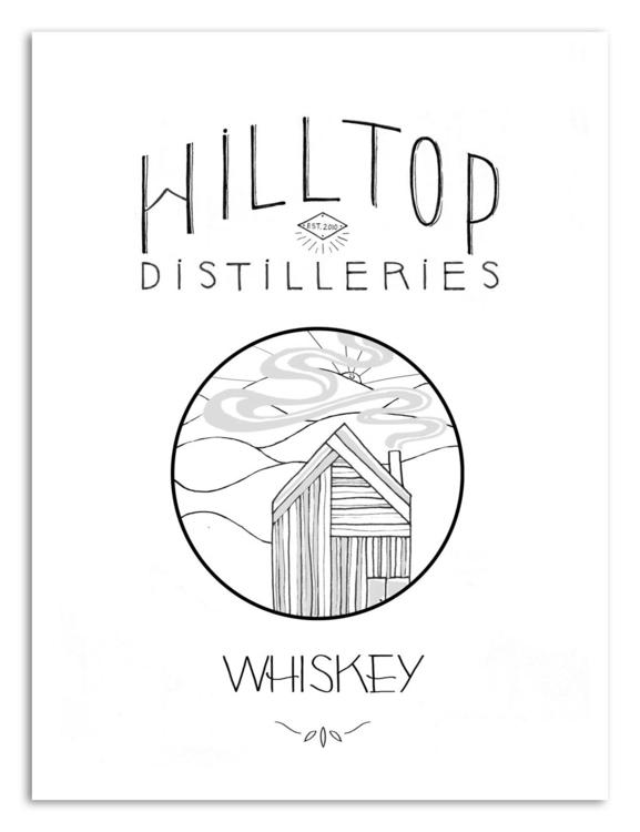 Hilltop Distilleries, Concept W - juicybeetle | ello
