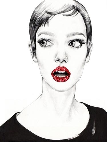 Mina illustration - illust, minak - minak-4594 | ello