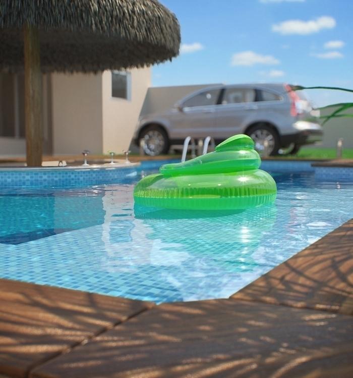pool, corona, realistic, vacation - felipedias-1272 | ello