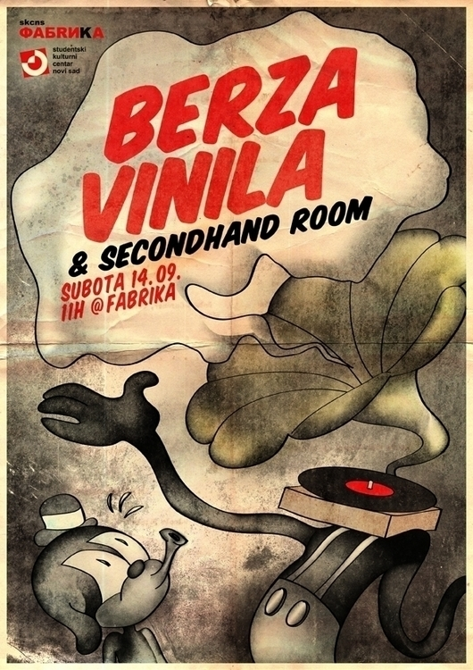 posterdesign, illustration, vinyls - simonadolinga | ello