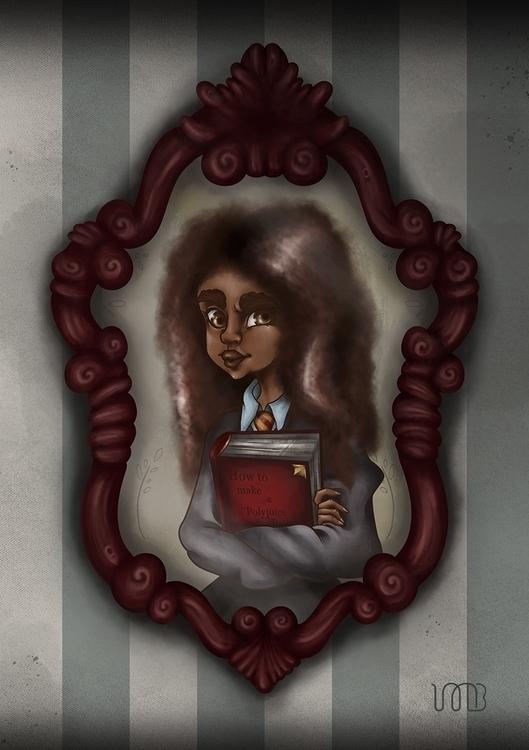 Hermione Granger fan art actres - mechibarron | ello