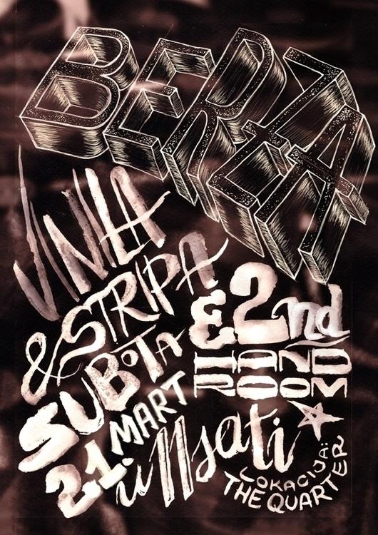posterdesign, lettering, vinyls - simonadolinga | ello