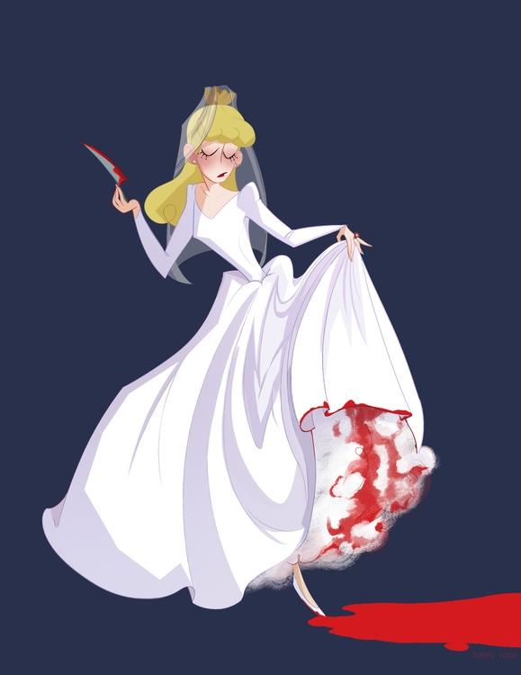 love drawing bridal~ - illustration - catpish | ello