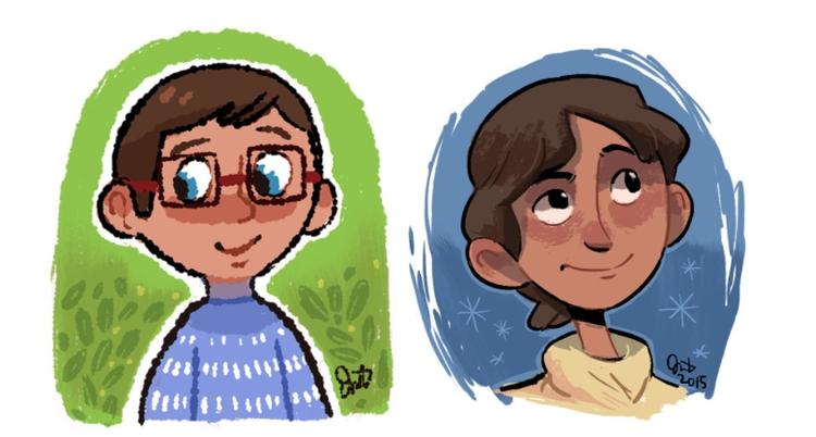 set sketches! characters - characterdesign - jm_amante02 | ello