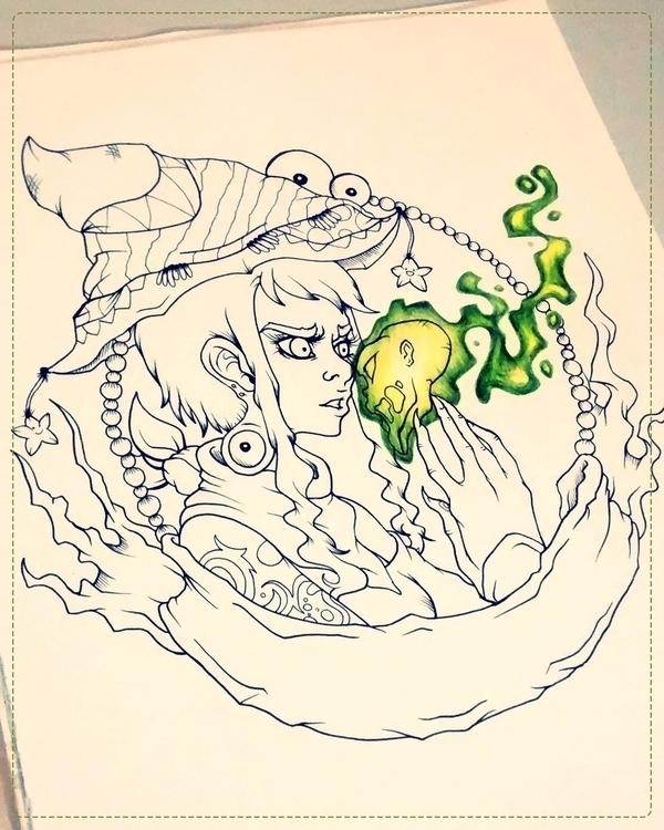 drawing fun - characterdesign - mechibarron   ello