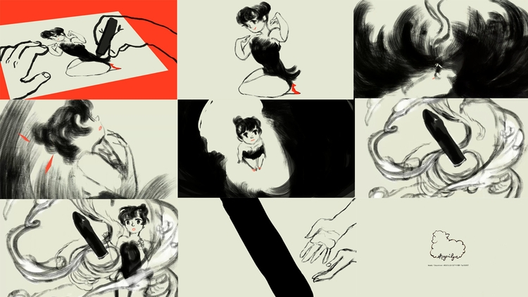 stills Charcoal animation - 2danimation - sheeprilyn | ello
