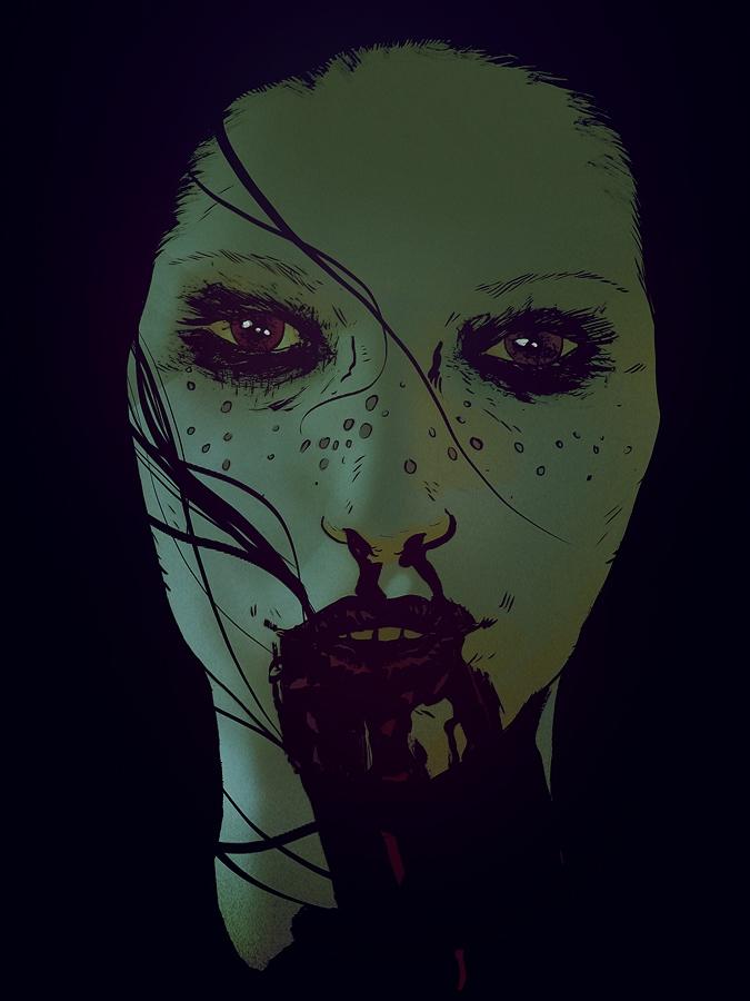 Freckled Feral | Ink Photoshop - robertsammelin-9753 | ello