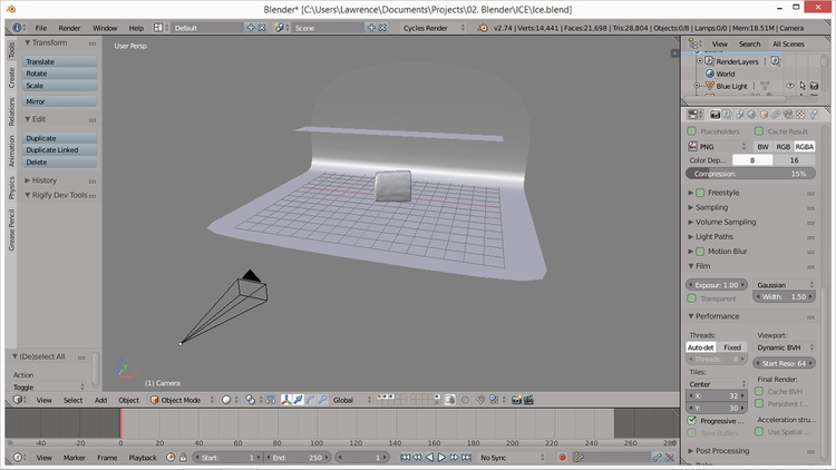 Viewport - 3d, materials, blender3d - rence-2540   ello