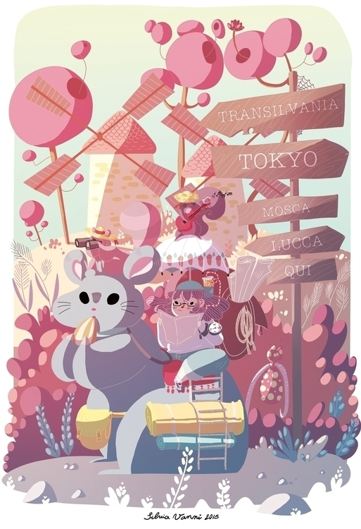 "entry ""Lucca Junior"" contest - illustration - silviavanni 