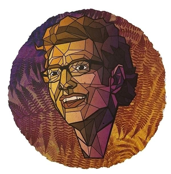 Jeff Goldblum - geometric, portrait - alexanderwalker-5442 | ello