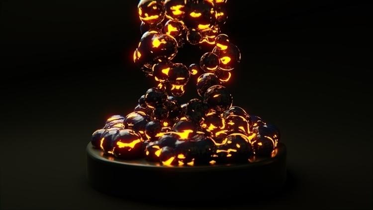 Lava Blobs - 3d, blender3d, lava - rence-2540 | ello