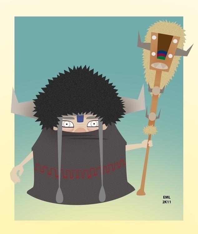 Elder - illustration, characterdesign - emarchena | ello
