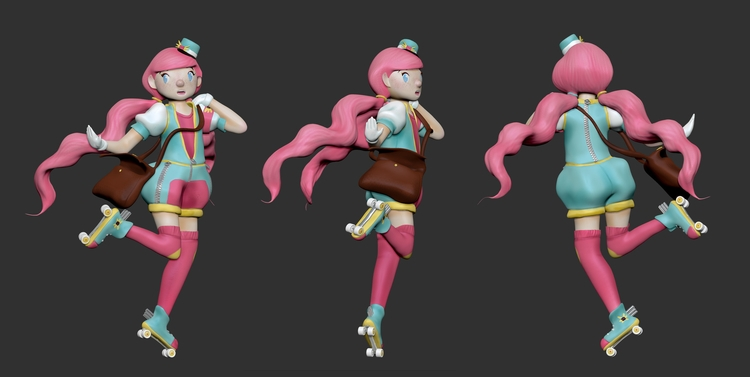 Suzy Model. Zbrush - zbrush, characterdesign - artisteko | ello