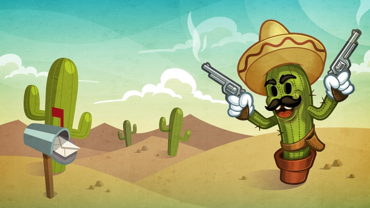 Bandito - illustration, mexican - knak-1575 | ello