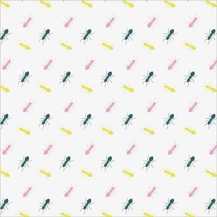 Formigas - patterndesign, pattern - cibelle-7505 | ello