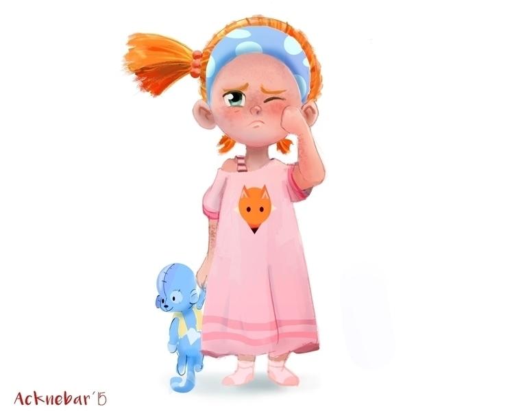 Ginny - characterdesign, character - acknebar | ello