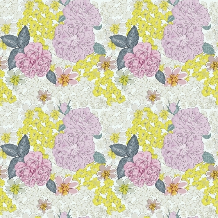 Asian Pattern - textiledesign, pattern - cibelle-7505 | ello