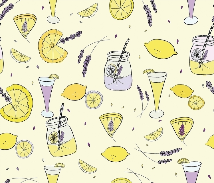 Lemonade - textiledesign, illustration - cibelle-7505 | ello