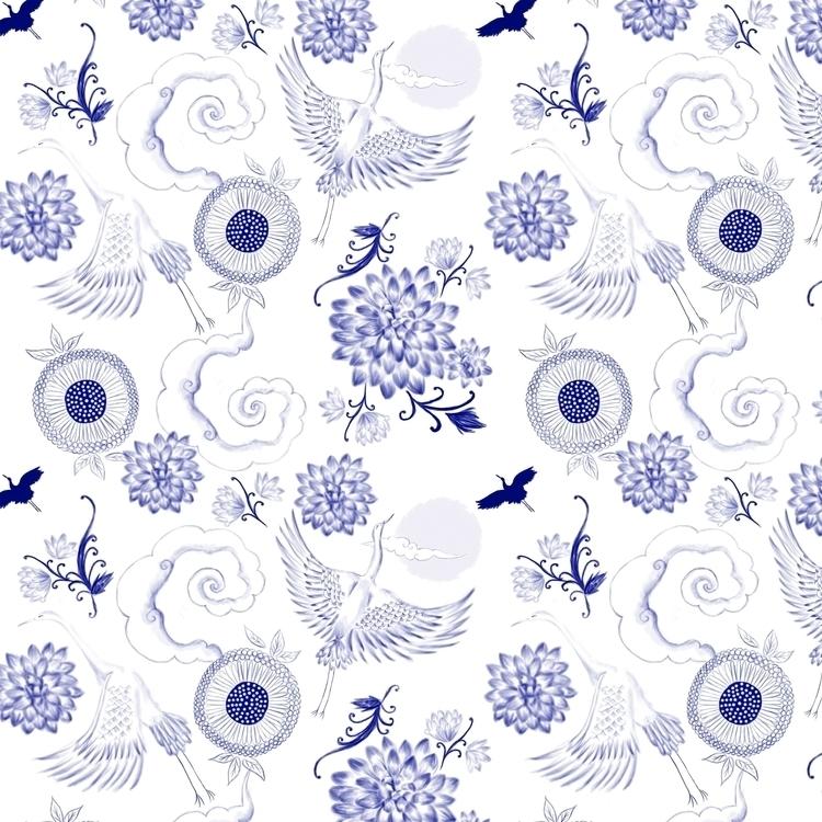 Porcelana Chinesa - chinoiserie - cibelle-7505 | ello