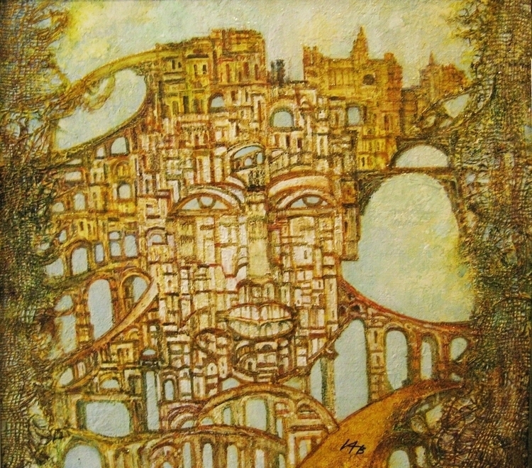 amazing city, dream - painting - ivanovpainter | ello