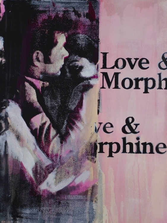 Love Morphine 18 24 screenprint - alexanderkey | ello
