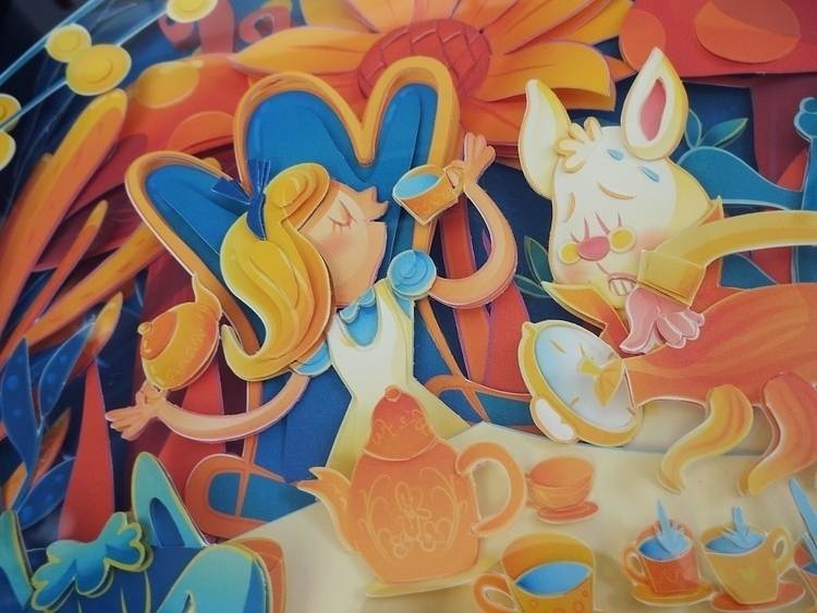 Tea Party - illustration, teaparty - fenwayfan | ello