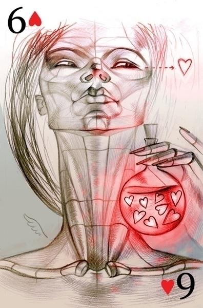 Cupid - illustration - natatulegenova | ello